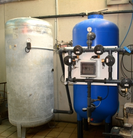 Installation d'une solution de forage d'eau